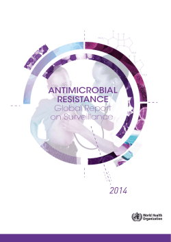 Antimicrobial Resistance: Global Report on Surveillance