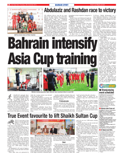 Abdulaziz and Rashdan race to victory True Event