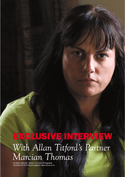 The Marcian Thomas Interview - Allan Titford – Political Prisoner