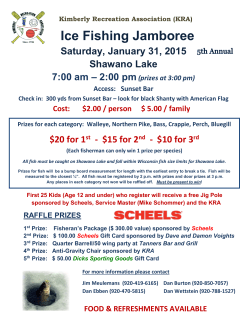 Ice Fishing Jamboree - Kimberly Recreation Association