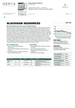 Resourcestock December 2014