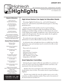 Highlights2001 - Highleah Townhouses