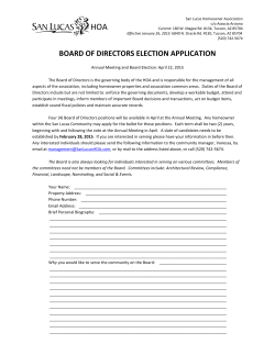 board election application 2015