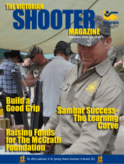 Vic Shooter - Sporting Shooters Association of Australia