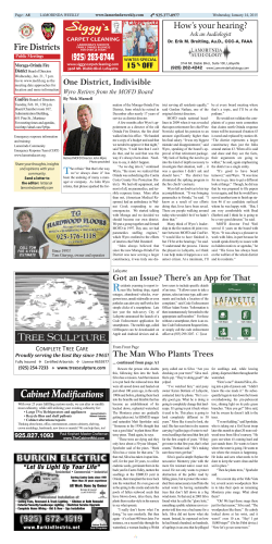 Lamorinda Weekly issue 23 volume 8