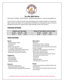 View Menu as PDF - Sac City Eats BBQ Catering