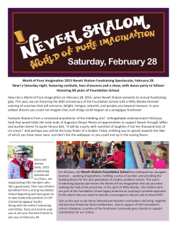 Jan/Feb 2015 - Congregation Neveh Shalom
