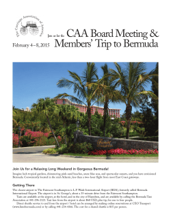 2015 Bermuda trip - for web.qxp - Carriage Association of America