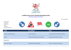 Road Works Report