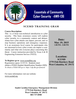 Essentials of Community Cyber Security -AWR-136