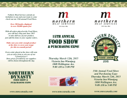 NMS FoodShow 2015 - Northern Meat Services