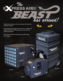 Safety Express introduces the all new Express Air Beast line of poly