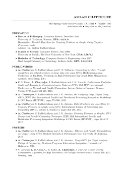 Resume (In pdf format) - Computer Science