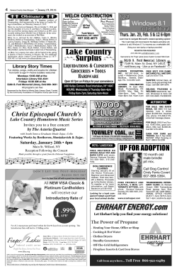 4 - The Seneca County Area Shopper