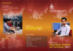 Download Leaflet - The Open University of Sri Lanka