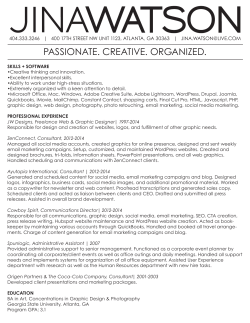 Check out my resume here!