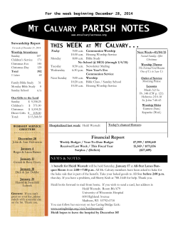 Download - Mt. Calvary Lutheran Church