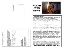 North Star News - January 2015