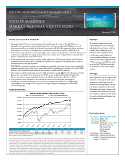 Market Neutral Equity Fund Class A