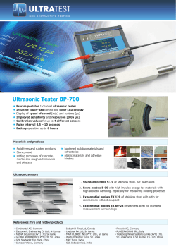Ultrasonic Tester BP-700