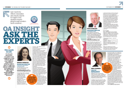 OA INSIGHT - Thewlis Graham Associates