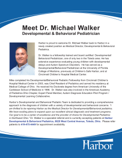 Meet Dr. Michael Walker - Great Lakes Collaborative for Autism