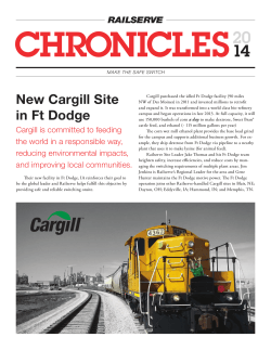 New Cargill Site in Ft Dodge