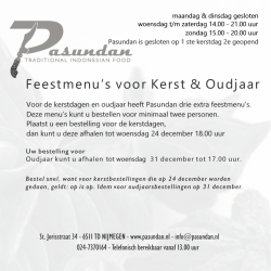 download kerstmenu