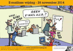 e-mail a.u.b. ? - Afkicken van E-mail