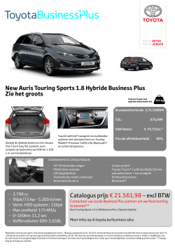 Auris TS 1.8 HSD_Dynamic_BusinessPlus_NL.pub