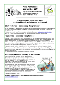 Kwb Achterbos September 2014