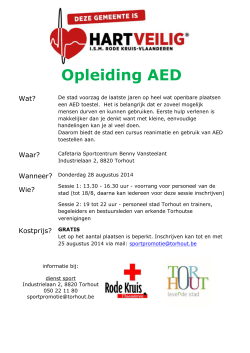 Opleiding AED