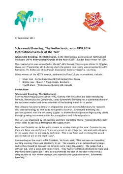 AIPH MEDIA RELEASE_AIPH_IGOTY_Winner_17Sep14