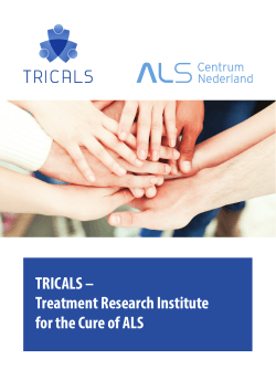 TRICALS – Treatment Research Institute for the Cure