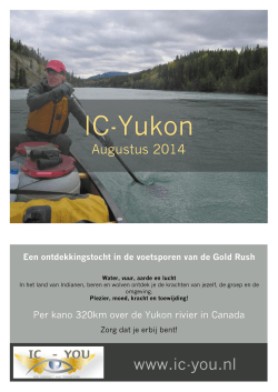 Flyer IC-Yukon. - IC-You