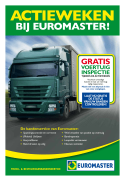 Euromaster promokrant Truck - Transport Collectief Nederland
