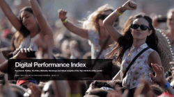 Performance Index Socials - DJ