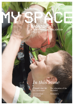 In this issue - Stichting Space Station