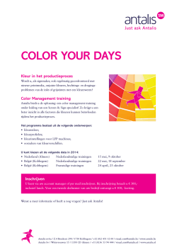 COLOR YOUR DAYS