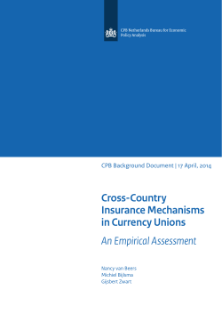 Cross-Country Insurance Mechanisms in Currency Unions An