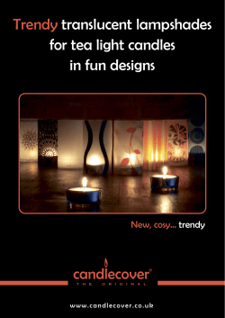 brochure - Candlecover