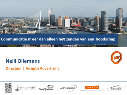 Neill Oliemans - Adepth Advertising