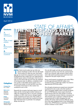 the netherlands retail property market
