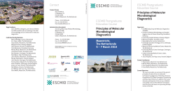 Contact ESCMID Postgraduate Education Course