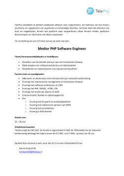 Medior PHP Software Engineer