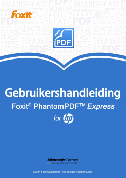 Foxit PhantomPDF Express for