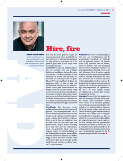Hire, fire - Royal Dutch Sales