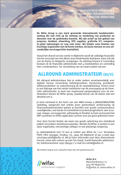 AMG14194 - Wifac - Personeelsadv allround administrateur.indd