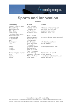 Sports and Innovation