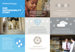 Our Sustainability Story 2014